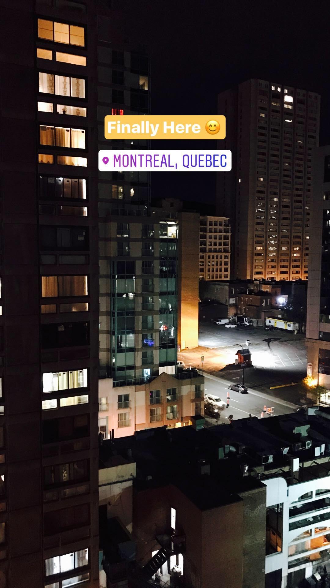 Monteal Quebec Buildings