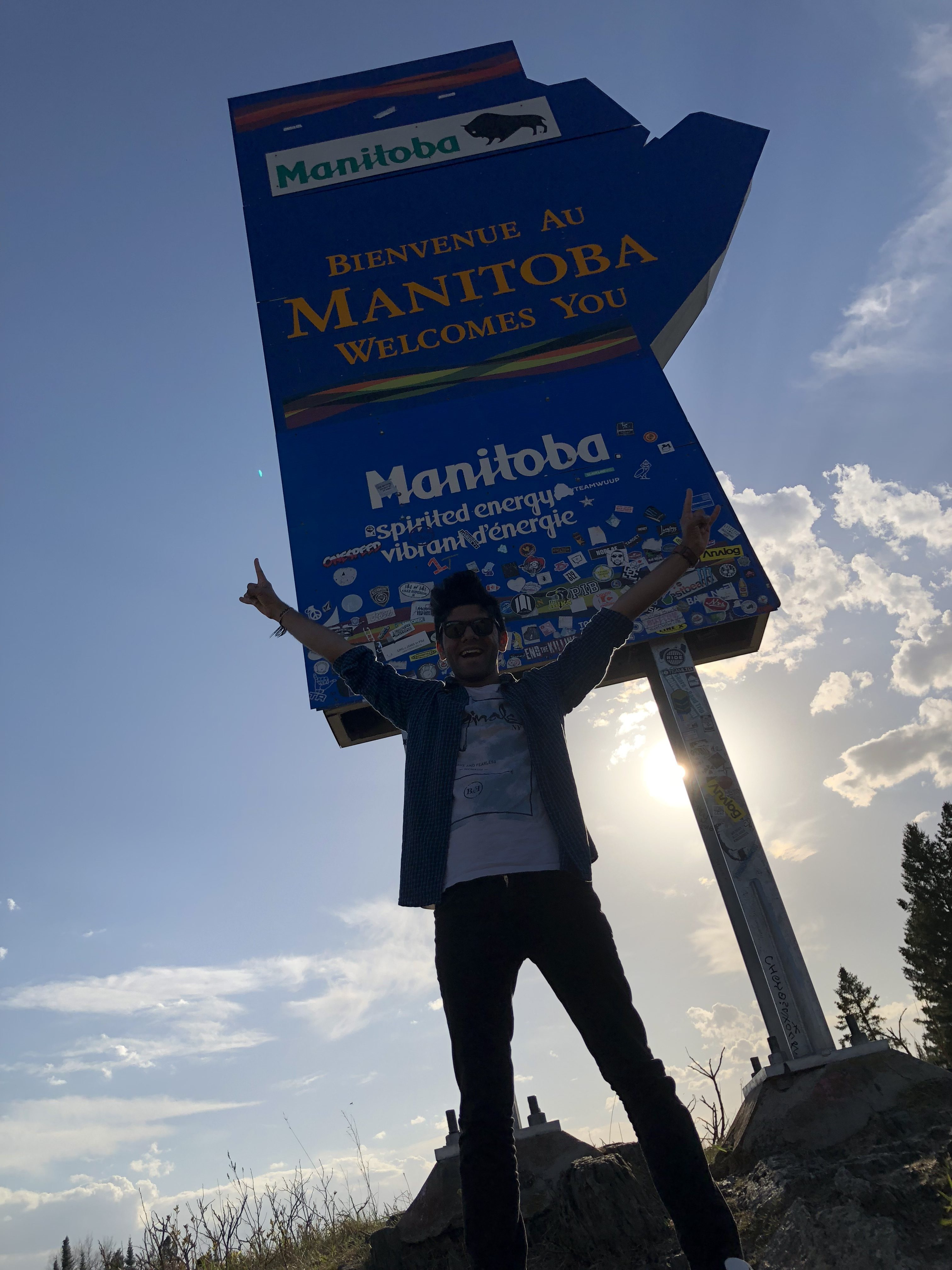 Ontario Manitoba Border